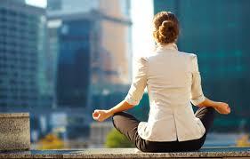meditación ciudad